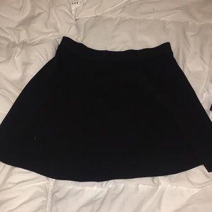 Black Top Shop Skate Skirt